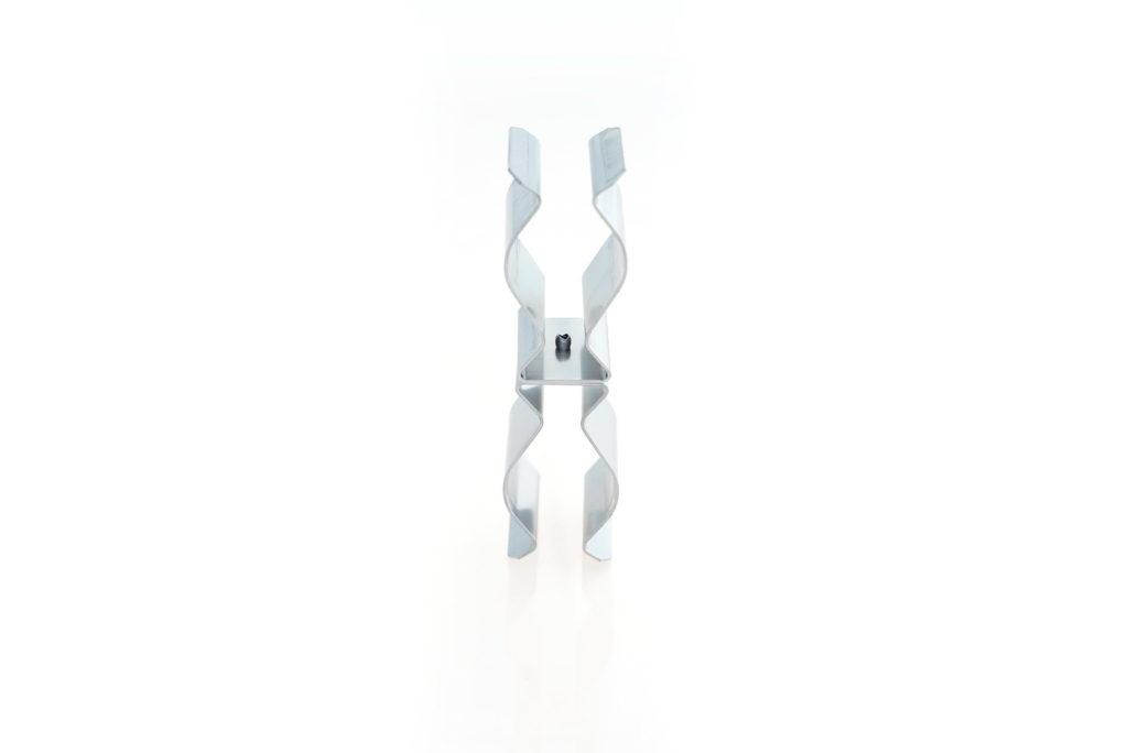 Fixation double sur support cable ou tube de 28mm