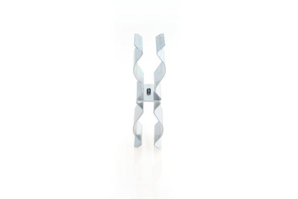 Fixation double sur support cable ou tube de 40mm
